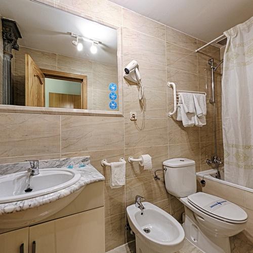 Baño Hostal San Lorenzo