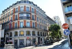 Fachada hotel san lorenzo madrid