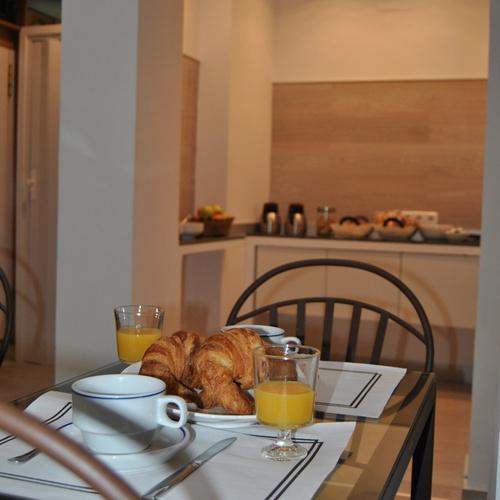 Desayuno Hostal San Lorenzo